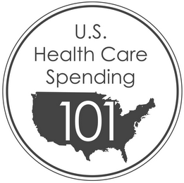 mark for U.S. HEALTH CARE SPENDING 101, trademark #85661616