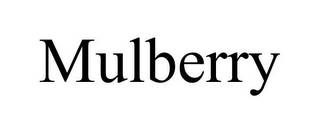 mark for MULBERRY, trademark #85661851