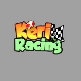mark for KERI RACING, trademark #85661890