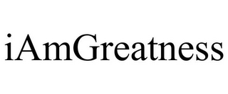 mark for IAMGREATNESS, trademark #85661940