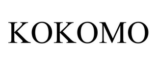 mark for KOKOMO, trademark #85662021