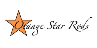 mark for ORANGE STAR RODS, trademark #85662109
