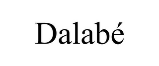 mark for DALABÉ, trademark #85662189