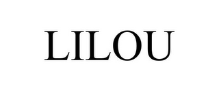 mark for LILOU, trademark #85662213