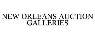 mark for NEW ORLEANS AUCTION GALLERIES, trademark #85662239