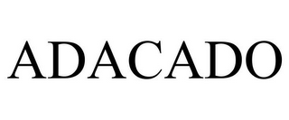 mark for ADACADO, trademark #85662240