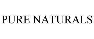 mark for PURE NATURALS, trademark #85662352