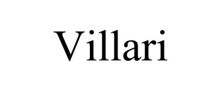 mark for VILLARI, trademark #85662598