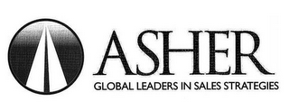 mark for ASHER GLOBAL LEADERS IN SALES STRATEGIES, trademark #85663005