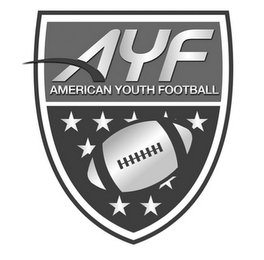 mark for AYF AMERICAN YOUTH FOOTBALL, trademark #85663037