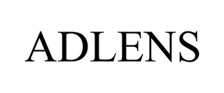 mark for ADLENS, trademark #85663259