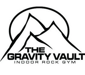 mark for THE GRAVITY VAULT INDOOR ROCK GYM, trademark #85663570