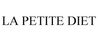 mark for LA PETITE DIET, trademark #85663599