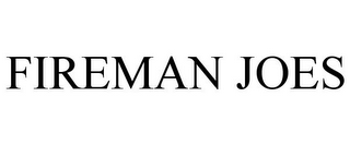 mark for FIREMAN JOES, trademark #85663900