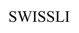 mark for SWISSLI, trademark #85664391