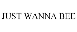 mark for JUST WANNA BEE, trademark #85664411