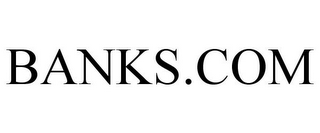 mark for BANKS.COM, trademark #85664722