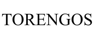 mark for TORENGOS, trademark #85664983