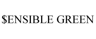 mark for $ENSIBLE GREEN, trademark #85665010