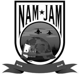 mark for NAM JAM, trademark #85665310