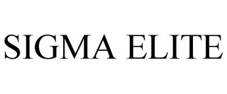 mark for SIGMA ELITE, trademark #85665500