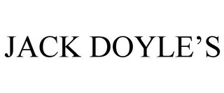mark for JACK DOYLE'S, trademark #85665636