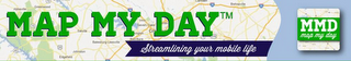 mark for MAP MY DAY STREAMLINING YOUR MOBILE LIFE MMD MAP MY DAY, trademark #85665765