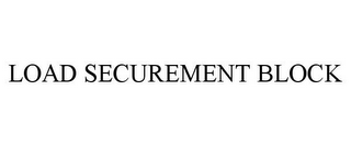 mark for LOAD SECUREMENT BLOCK, trademark #85665884