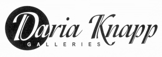 mark for DARIA KNAPP GALLERIES, trademark #85665936