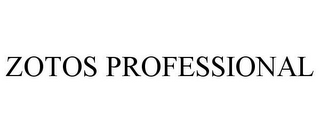 mark for ZOTOS PROFESSIONAL, trademark #85666645