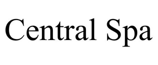 mark for CENTRAL SPA, trademark #85666668