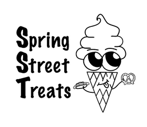 mark for SPRING STREET TREATS, trademark #85666710