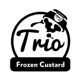 mark for TRIO FROZEN CUSTARD TRIO FROZEN CUSTARD, trademark #85666748