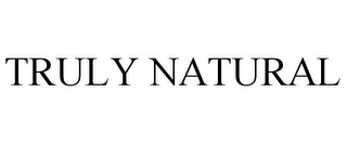 mark for TRULY NATURAL, trademark #85666843