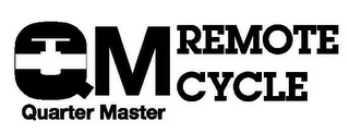 mark for QM REMOTE CYCLE QUARTER MASTER, trademark #85666965
