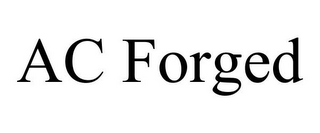 mark for AC FORGED, trademark #85667424