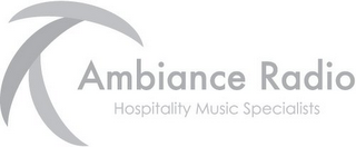 mark for AMBIANCE RADIO HOSPITALITY MUSIC SPECIALISTS, trademark #85667529