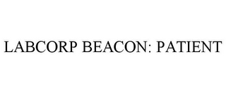 mark for LABCORP BEACON: PATIENT, trademark #85667897