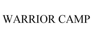 mark for WARRIOR CAMP, trademark #85667967