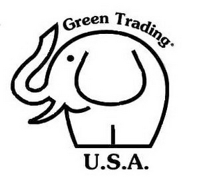 mark for GREEN TRADING U.S.A., trademark #85668094