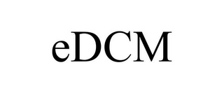 mark for EDCM, trademark #85668225
