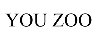 mark for YOU ZOO, trademark #85668513