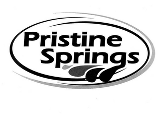 mark for PRISTINE SPRINGS, trademark #85668593
