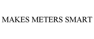 mark for MAKES METERS SMART, trademark #85668910