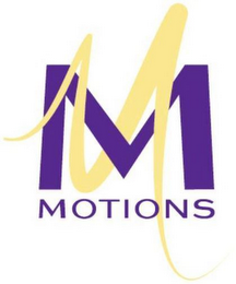 mark for M MOTIONS, trademark #85669059