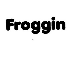 mark for FROGGIN, trademark #85669320