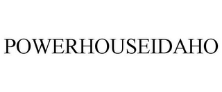 mark for POWERHOUSEIDAHO, trademark #85669326