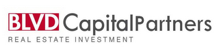 mark for BLVD CAPITAL PARTNERS REAL ESTATE INVESTMENT, trademark #85669369