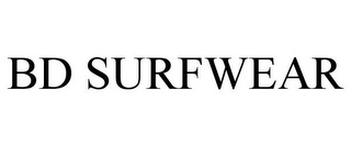 mark for BD SURFWEAR, trademark #85669766