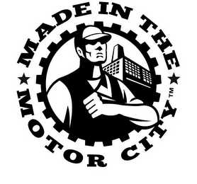 mark for MADE IN THE MOTOR CITY, trademark #85669888